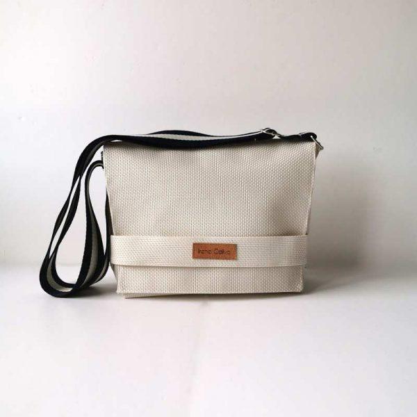 Bandolera 507 color blanco
