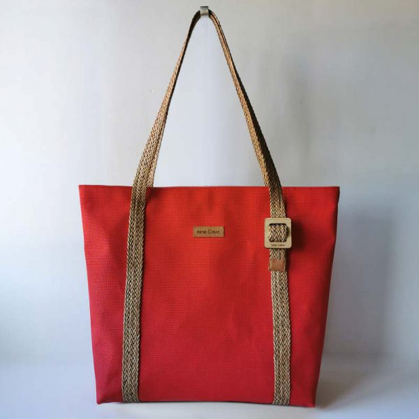 Bolso Suances color rojo