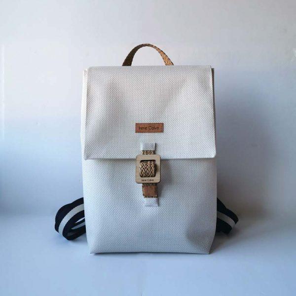 Mochila Royal color blanco
